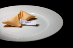 Fortune Cookie  Photo credit: Sharon Drummond, flickr under CC license