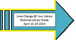 National Library Week April 13-19, 2014